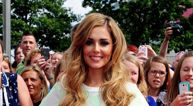 Cheryl Fernandez-Versini X is on track to claim her fifth number one single