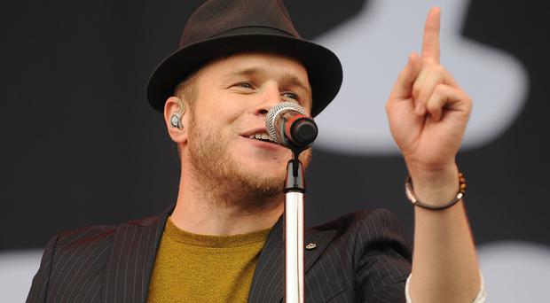 Olly Murs isn't about to pop the question