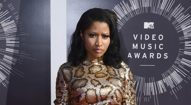 Nicki Minaj said she did not create the concept for the video for her song Only. (AP)