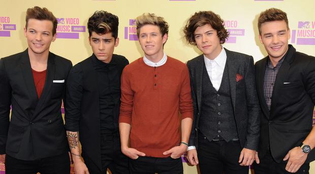 Former X Fcator contesants One Direction feature on the new Band Aid song