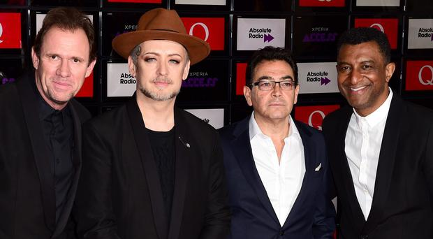 Boy George has developed a throat condition which has led to his re-formed group Culture Club pulling out of a US and UK tour