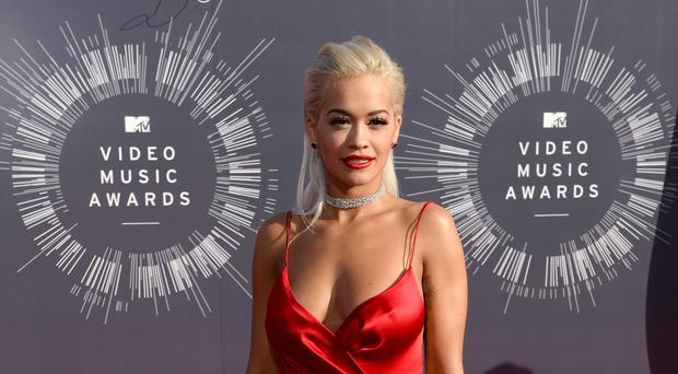 Rita Ora is one of the judges on The Voice