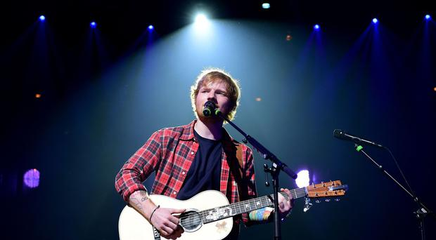 Ed Sheeran is to headline at Wembley