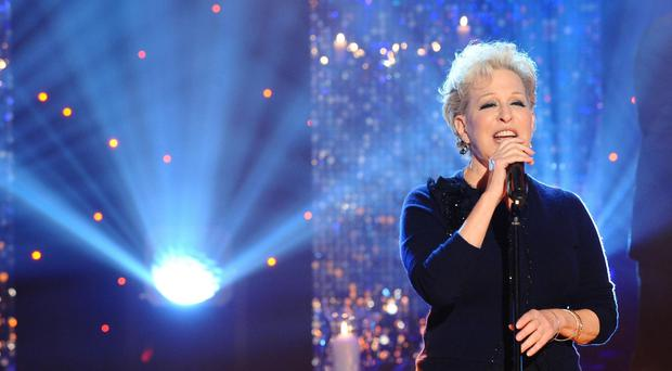 Bette Midler will be doing a handful of shows in the UK