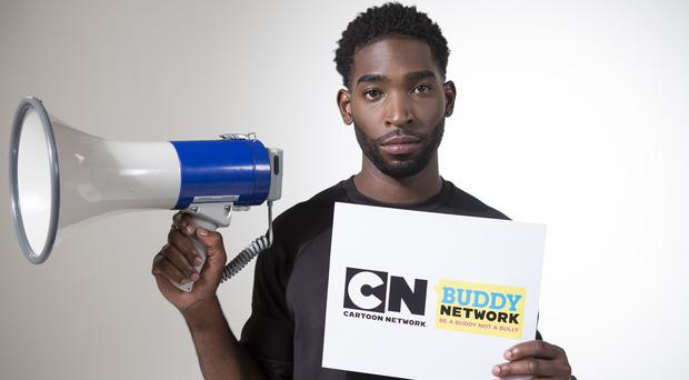 Tinie Tempah is the face of the Cartoon Network's new anti-bulling campaign