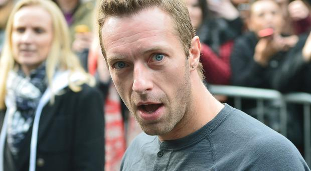 Chris Martin has revealed Katy Perry inspired some of Coldplay's new music