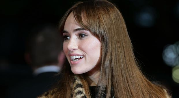 Suki Waterhouse has taken part in recording an interactive version of John Lennon's hit Imagine as part of a global Unicef campaign