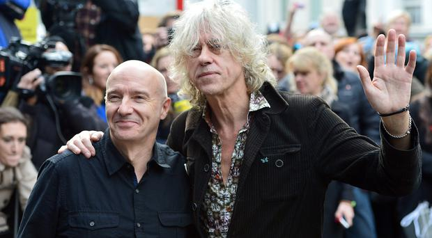 Band Aid 30's Do They Know It's Christmas? topped the singles chart