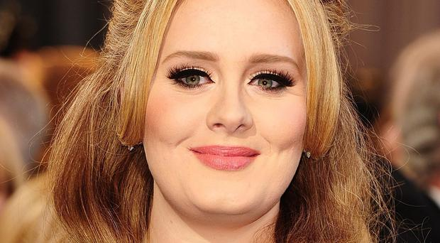 Adele's record label boss says the singer is making good progress on her new album
