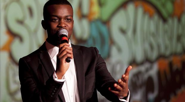George the Poet is in the running for the Critics Choice Award