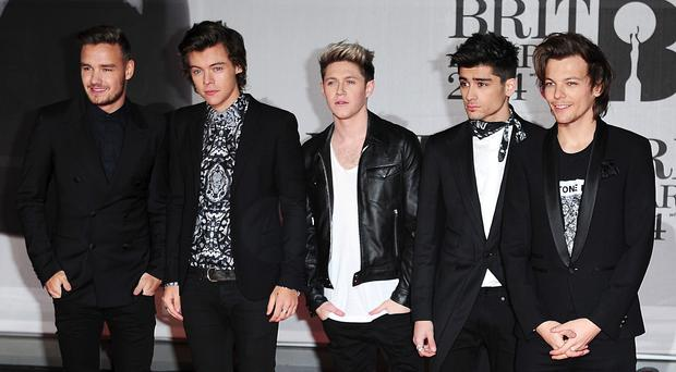 One Direction on the road to Belfast for two shows