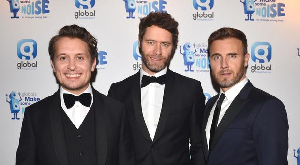 Take That have gone straight in to the top of the singles chart