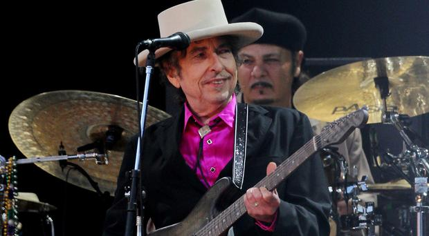 The lyrics from two early Bob Dylan tracks are going under the hammer