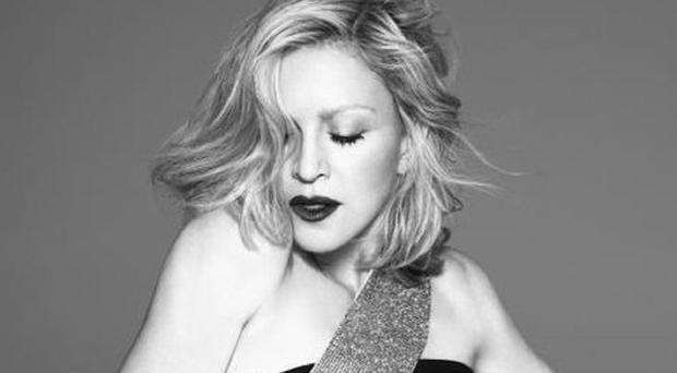 Madonna is the new face of Versace (Versace/Twitter)