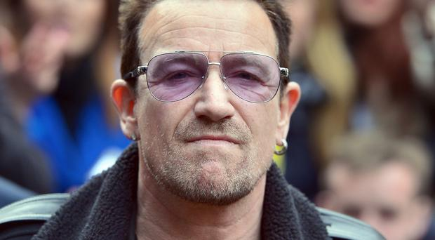 Bono had to undergo surgery after his accident