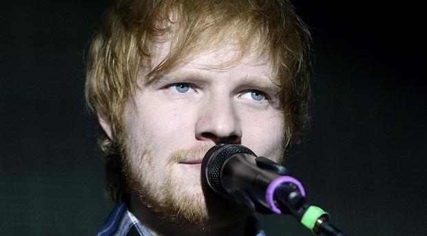 Ed Sheeran has proved a hit on iTunes