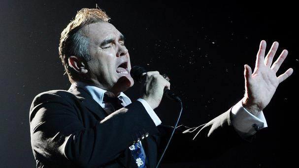 Morrissey bans meat from his Belfast show at the Odyssey Arena