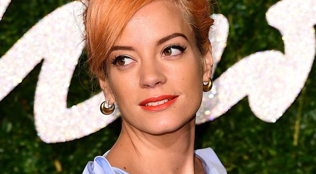 Lily Allen hit out at a report about her giving up drinking