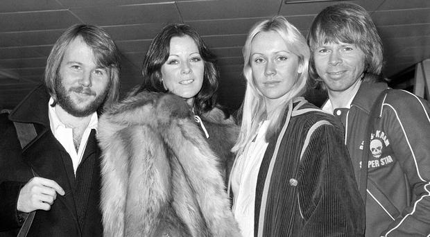 Bjorn Ulvaeus (far right) says there will be no Abba reunion