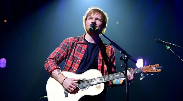Ed Sheeran is a nominee at the first ever BBC Music Awards