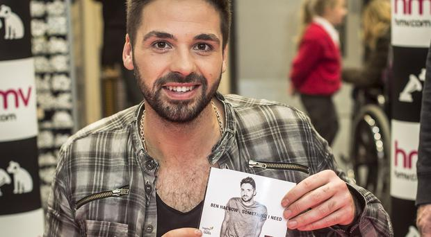 X Factor winner Ben Haenow's debut single has topped the Christmas chart