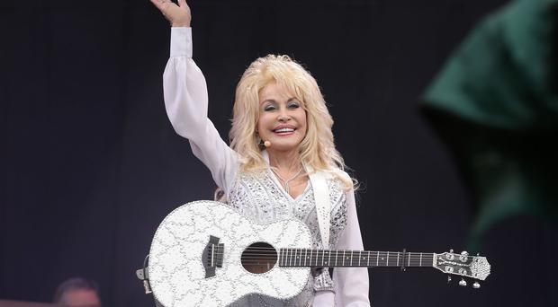 Dolly Parton's Glastonbury set has been voted the best music moment of the year