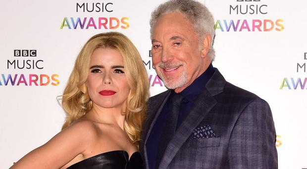 Paloma Faith and Sir Tom Jones are keen to record an album together