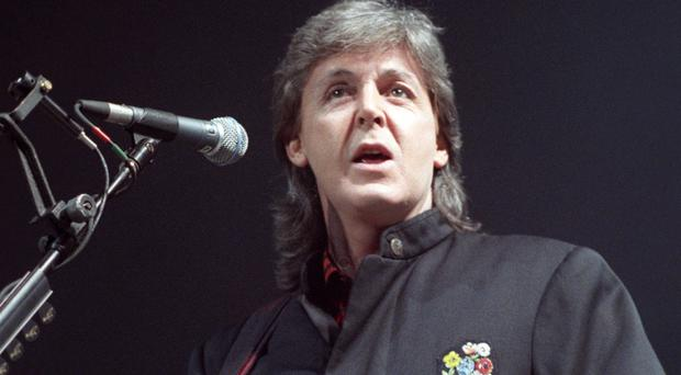 Sir Paul McCartney has said you can't teach pop music
