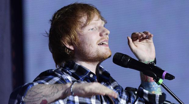 Ed Sheeran has had major success with his album X in 2014