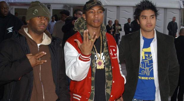 Sheldon Haley, Pharrell Williams and Chad Hugo have released three new songs