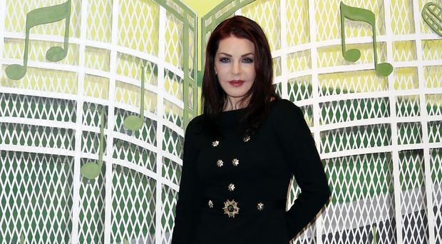 Priscilla Presley joined Elvis fans to mark his 80th birthday