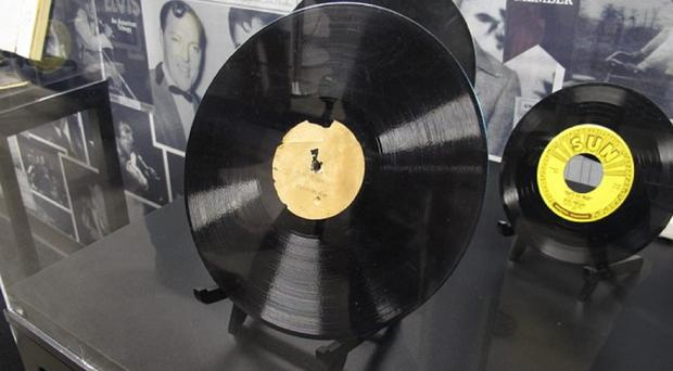 Elvis Presley recorded My Happiness for four dollars