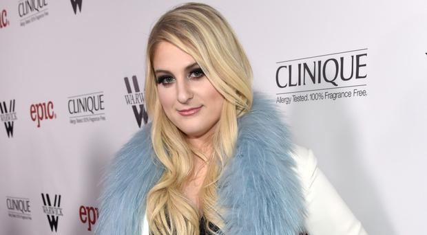 Meghan Trainor says she has written a love song with Harry Styles