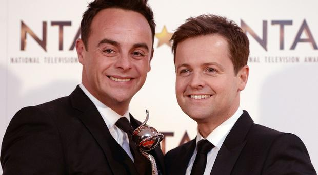 Anthony McPartlin and Declan Donnelly will host the 2015 Brits