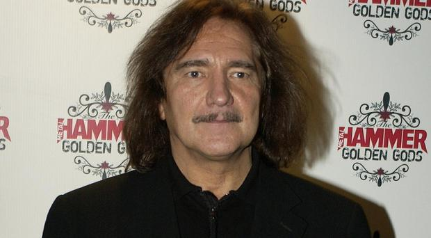 Geezer Butler was arrested in the US
