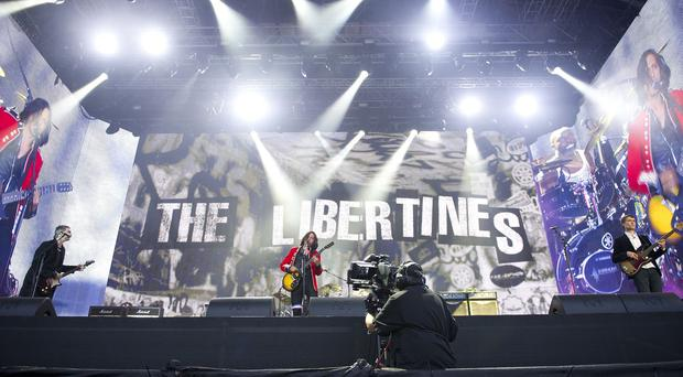The Libertines will be one of the headline acts at T in the Park