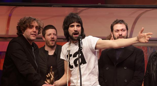 Sergio Pizzorno of Kasabian hailed the band's choice to headline the V Festival
