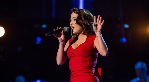 Electro Velvet consists of Alex Larke and Bianca Nicholas, who took part in The Voice UK last year (BBC/PA)