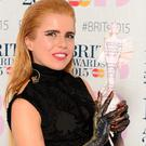Paloma Faith won the Brit award for Best British Solo Artist
