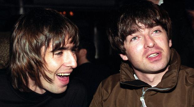 Ex-Oasis singer Liam Gallagher hinted on Twitter that he might have buried the hatchet with brother Noel