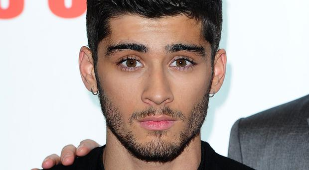Former One Direction star Zayn Malik.