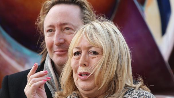 Julian Lennon was by his mother's bedside