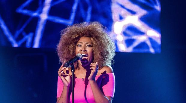 Sasha Simone is one of the four finalists in the latest series of The Voice (BBC/PA)
