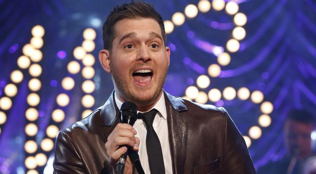 Michael Buble has been criticised by some Twitter users