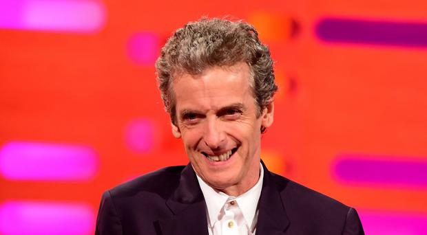 Actor Peter Capaldi is the current Doctor Who in the BBC show