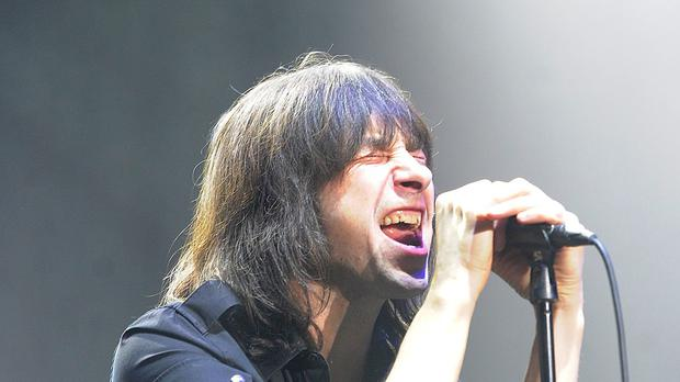 Bobby Gillespie of Primal Scream. The band released its ground-breaking Screamadelica album almost 25 years ago