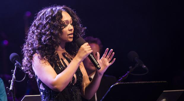 Rebecca Ferguson has voiced her support for Louis Walsh