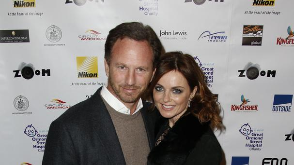 Christian Horner and Geri Halliwell are now man and wife