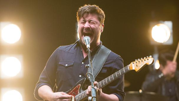 Mumford and Sons have topped the album chart with Wilder Mind