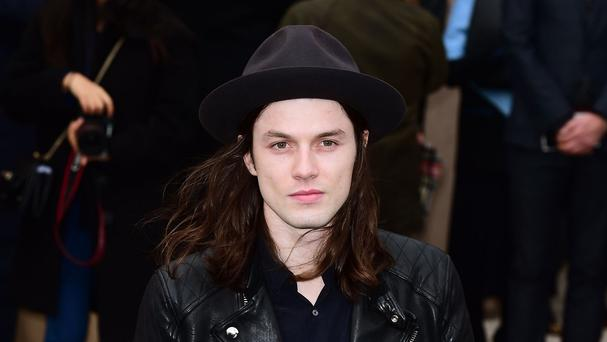 James Bay will pick up a gong